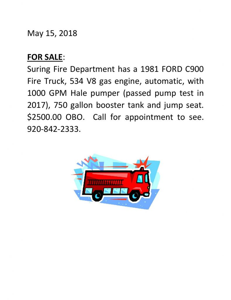FIRE TRUCK AD